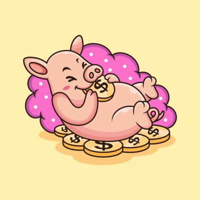 lustiges schwein