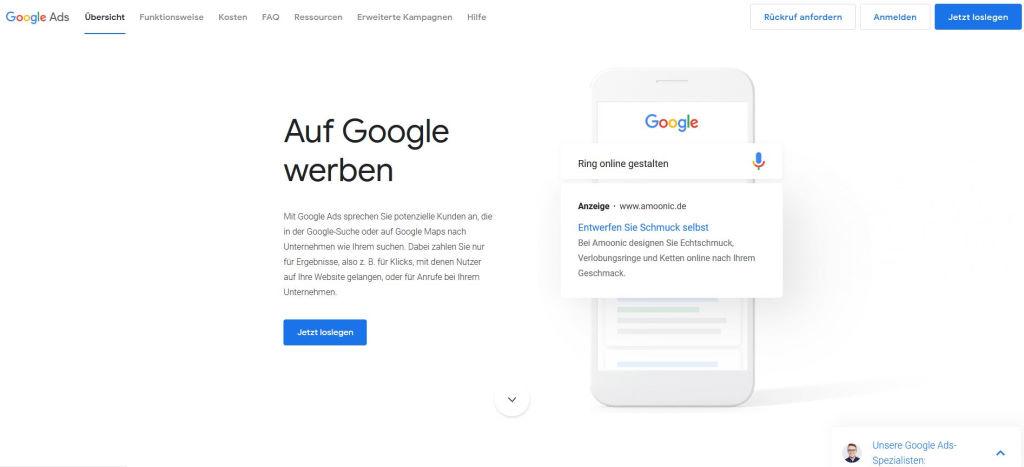 Google Ads mit Google my business verknüpfen